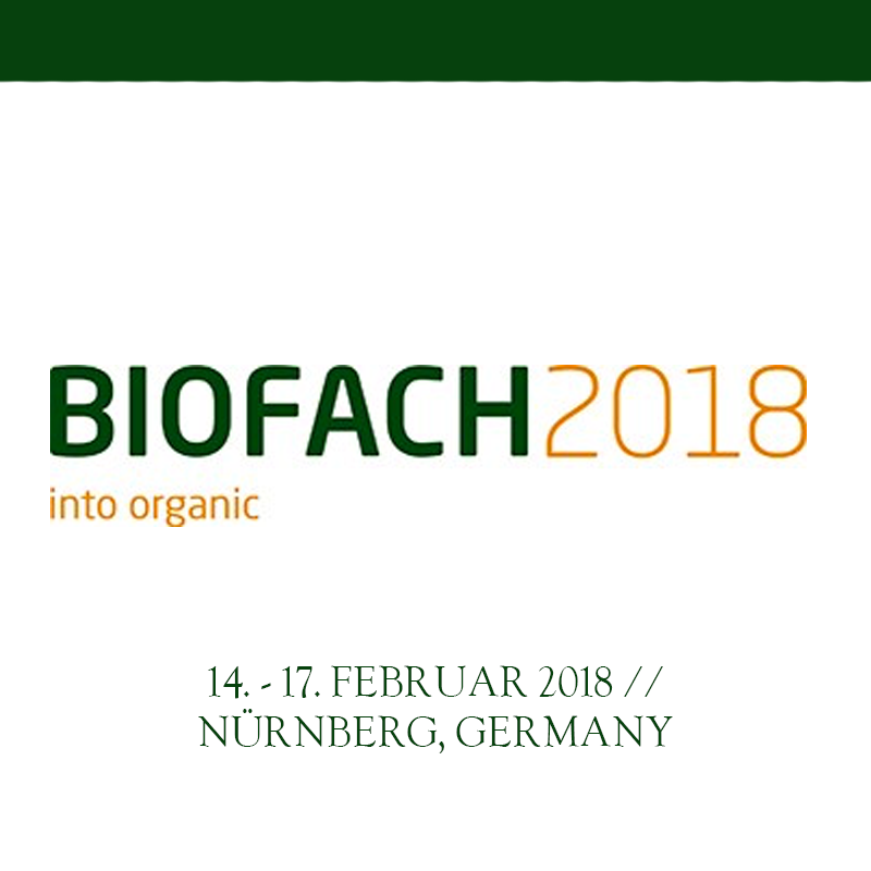 Biofach 2018 (preview)