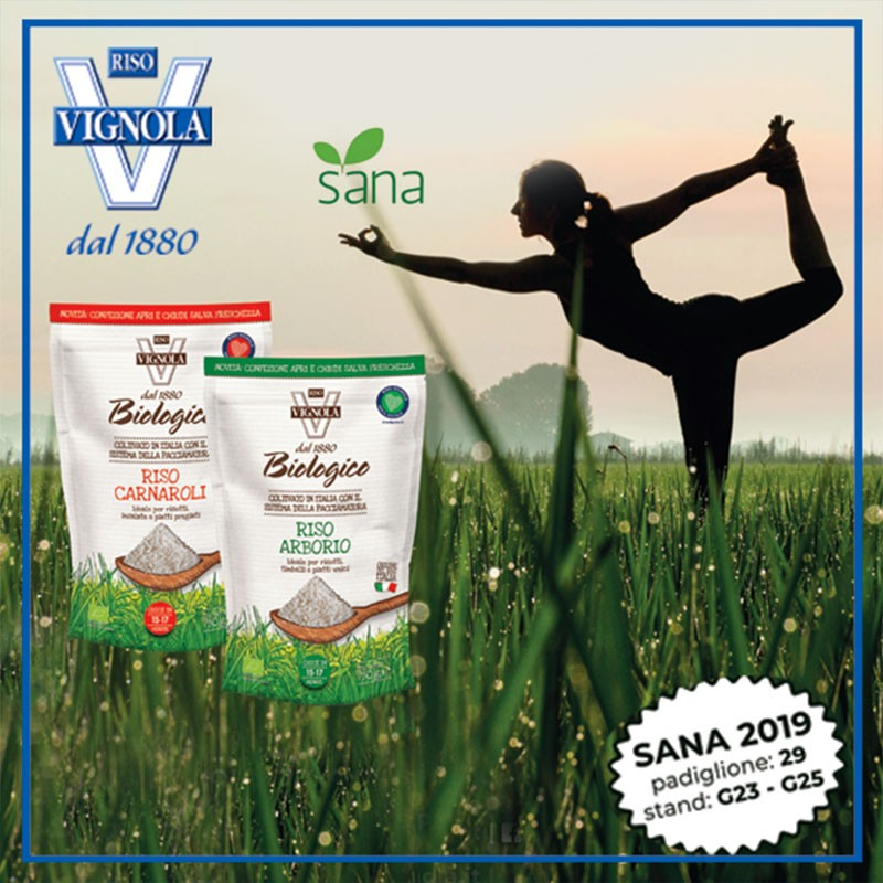 sana 2019 - international exhibition of organic and natural products (preview)