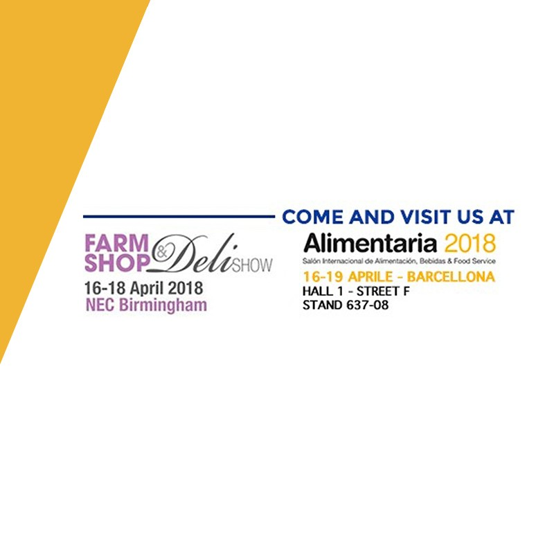 Farm Shop & Deli Show - Birmingham  & Alimentaria 2018 - Barcelona (preview)