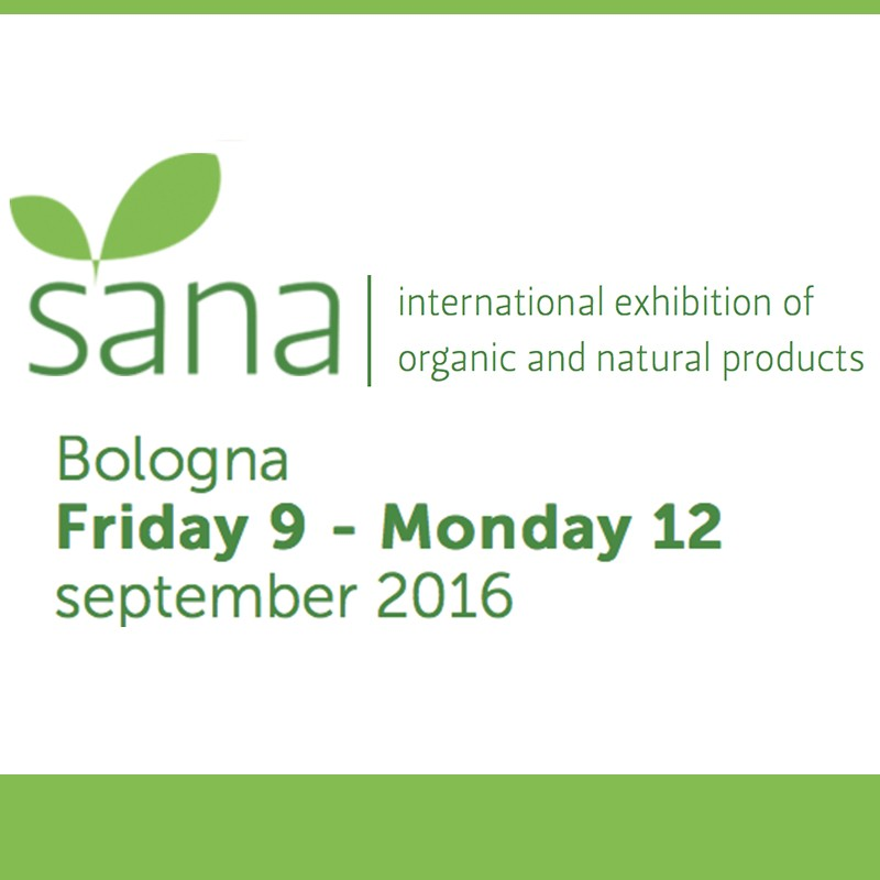 Sana 2016 - International exhibition of organic and natural products (preview)
